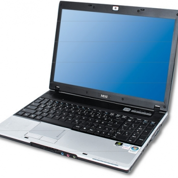 Ремонт ноутбука MSI EX600: замена видеочипа, моста, гнезд, экрана, клавиатуры