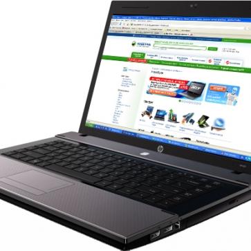 Ремонт ноутбука HP Compaq 625: замена видеочипа, моста, гнезд, экрана, клавиатуры