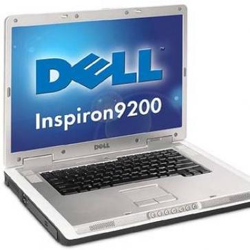 Ремонт ноутбука DELL Inspiron 9200: замена видеочипа, моста, гнезд, экрана, клавиатуры
