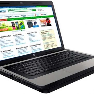 Ремонт ноутбука HP 635: замена видеочипа, моста, гнезд, экрана, клавиатуры