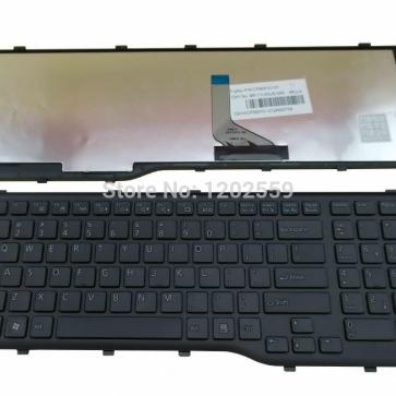 Fujitsu LIFEBOOK AH552 серии замена клавиатуры ноутбука