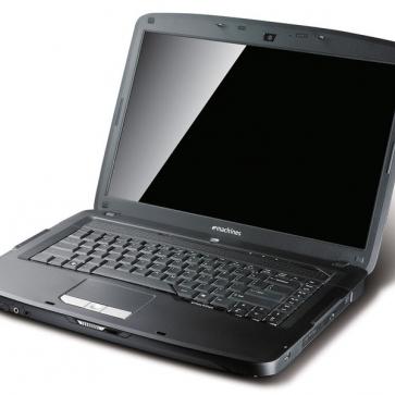 Ремонт ноутбука Acer E-Machines E520: замена видеочипа, моста, гнезд, экрана, клавиатуры