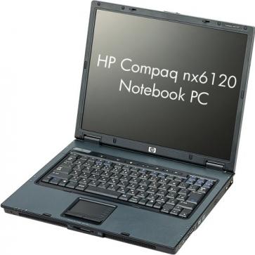Ремонт ноутбука HP nx6120: замена видеочипа, моста, гнезд, экрана, клавиатуры