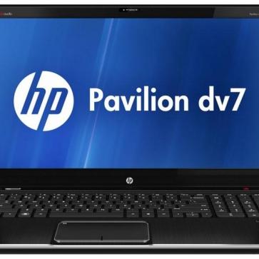 Ремонт ноутбука HP DV7-2000: замена видеочипа, моста, гнезд, экрана, клавиатуры