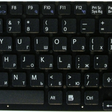 SONY VPC-EC серии замена клавиатуры