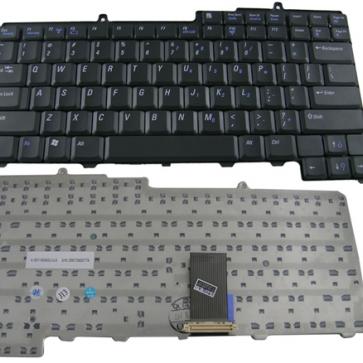 DELL Inspiron 9200 серии замена клавиатуры