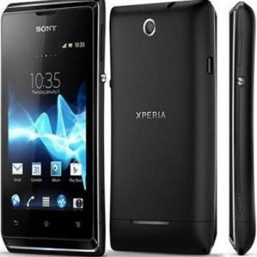 Купить Sony Xperia E (черный) мобильный телефон