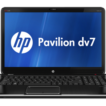 Ремонт ноутбука HP DV7-7000: замена видеочипа, моста, гнезд, экрана, клавиатуры