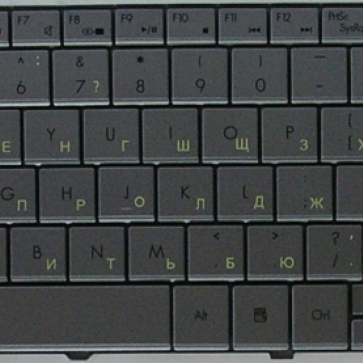 Packard-Bell EasyNote NV52 замена клавиатуры