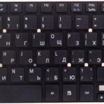 Gateway NV55 замена клавиатуры