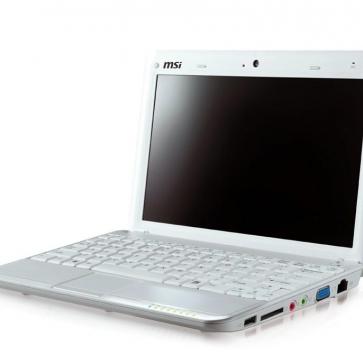 Ремонт ноутбука MSI U100: замена видеочипа, моста, гнезд, экрана, клавиатуры