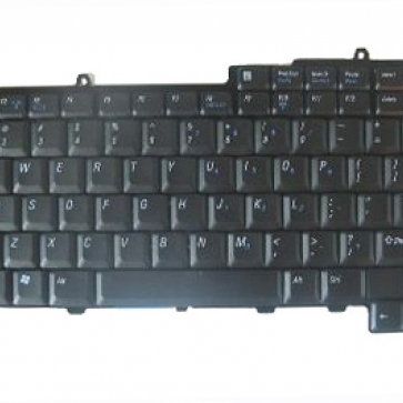 DELL Inspiron 9300 серии замена клавиатуры