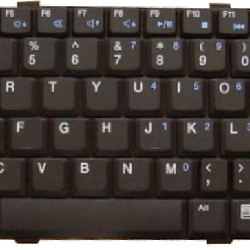 DELL Vostro V1200 серии замена клавиатуры