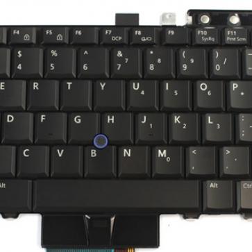 DELL Latitude E6400 серии замена клавиатуры
