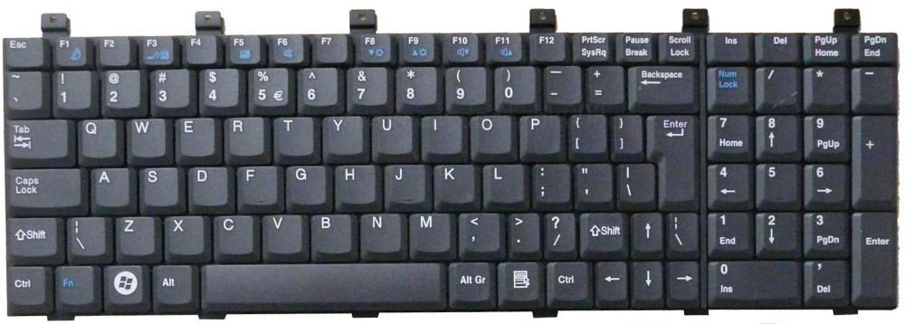 Замена клавиатуры на ноутбуке packard bell своими руками