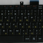MSI MS-1683 замена клавиатуры ноутбука