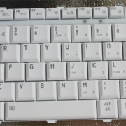 TOSHIBA Satellite A400 замена клавиатуры ноутбука