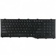 Fujitsu LIFEBOOK AH532 замена клавиатуры ноутбука