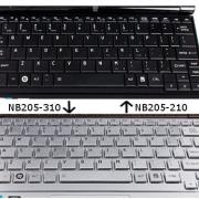 TOSHIBA NB205 замена клавиатуры ноутбука