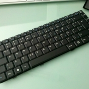 DELL Inspiron 1425 замена клавиатуры ноутбука