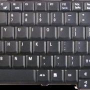 Acer Aspire 5737 замена клавиатуры ноутбука